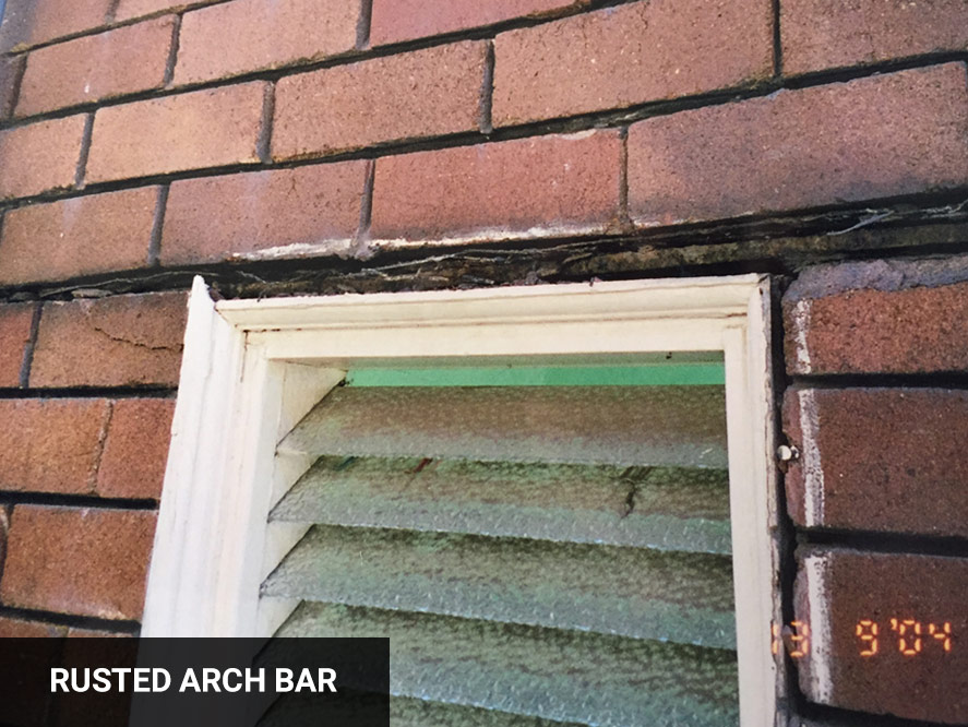 Rusted Arch bar